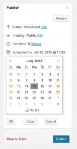 Schedule Posts Calendar - Yazı Zamanlama Eklentisi