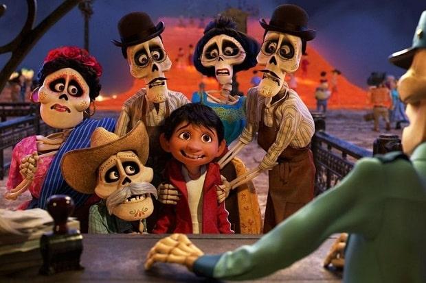 Coco, Ölüler Diyarına Yolculuk