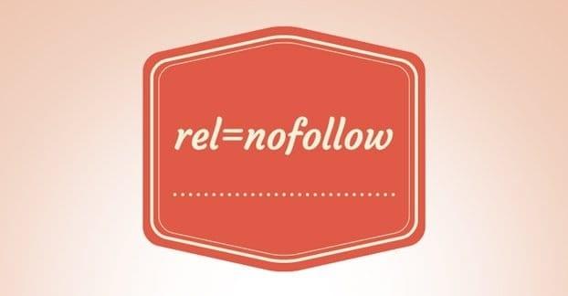 WordPress rel=nofollow