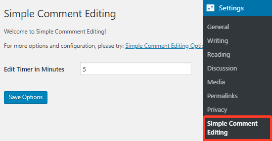 WordPress - WordPress Eklenti - Simple Comment Editing