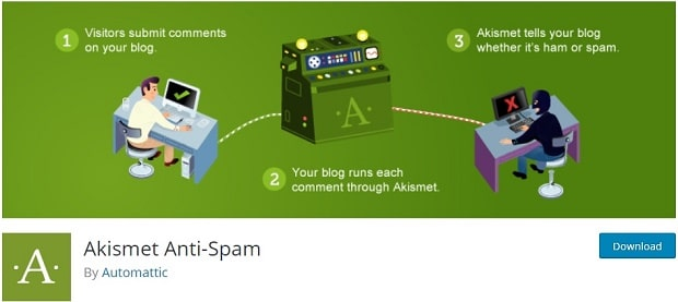 Akismet - WordPress Anti Spam