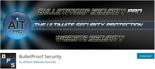 BulletProof Security - WordPress Anti Spam