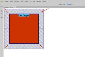 margin html