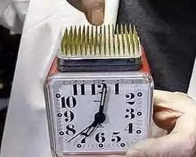 Dikenli Çalar Saat