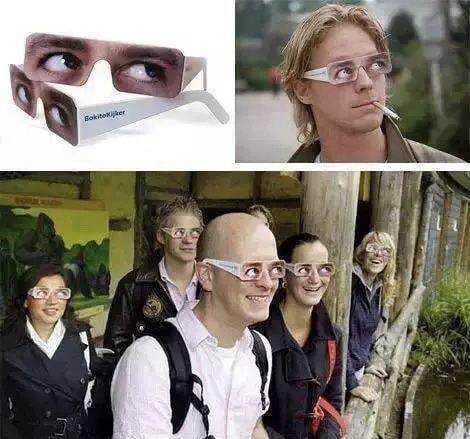 Göz Temasını Engelleyen Gözlük